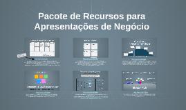 Copy of Pacote de Recursos para Apresentações de Negócios
