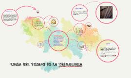 LINEA DEL TIEMPO DE LA TEGNOLOGIA