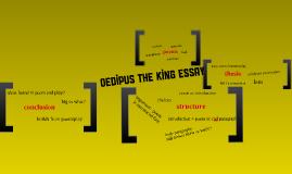 Oedipus Essay