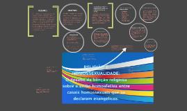 Copy of RELIGIÃO E HOMOSSEXUALIDADE: