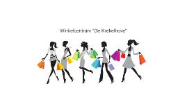 """Winkelcentrum """"De Krekelhove"""""""