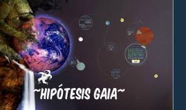 HIPÓTESIS GAIA