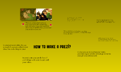 How to make a prezi?