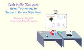 iPads in the Classroom Mini PD