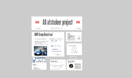 AD afstudeer project