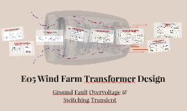 E05 Wind Farm Transformer Design