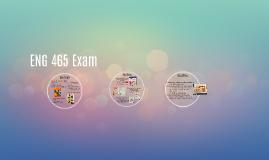 ENG 465 Exam