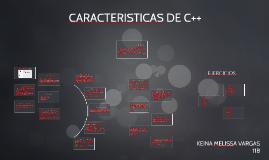 CARACTERISTICAS DE C++