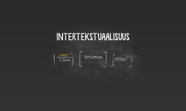 INTERTEKSTUAALISUUS