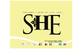 """Proyecto """"SHE"""""""