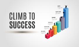 Cópia de Climb to Success- Prezi Template