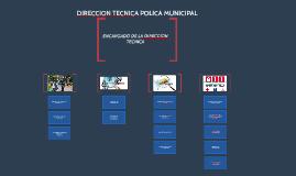 ENCARGADO DE LA DIRECCION TECNICA