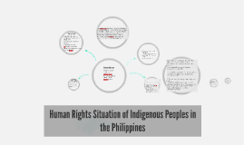 Human Rights Situation of Indigenous Peoples in the Philippi