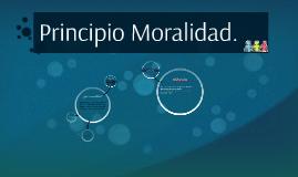 Principio Moralidad