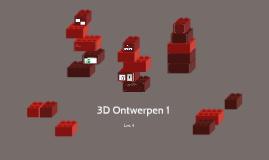 3D Ontwerpen 1 - Les 6