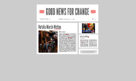 GOOD NEWS FOR CHANGE