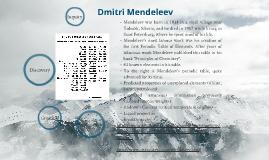Dmitri Mendeleev: Pioneer of Chemistry