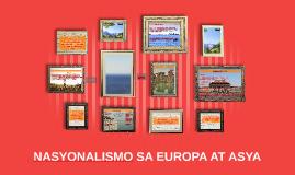Copy of NASYONALISMO SA EUROPA AT ASYA