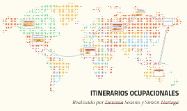 ITINERARIOS OCUPACIONALES