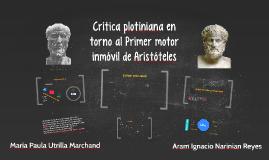Crítica plotiniana en torno al Primer motor de Aristóteles