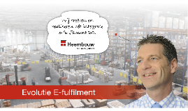 Evolutie E-fulfilment