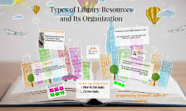 Types of Library Resources