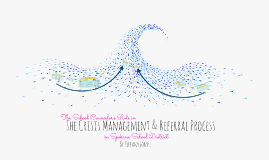 The School Counselor's Role in the Crisis Management & Referral Process