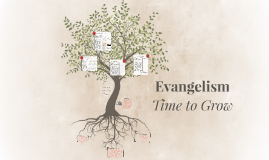 Evangelism - Time to Grow