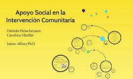 Copy of Apoyo Social en la