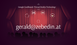 Google Cardboard- Virtual Reality Technology