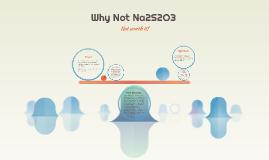 Why Not Na2S2O3