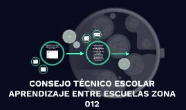 TRABAJO ENTRE ESCUELAS ZONA 012