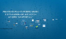 Copy of PROYECTO PLANTA PURIFICADORA  Y ENVASADORA DE AGUA EN LA GUA