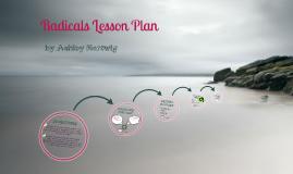 Radicals Lesson Plan Body Presentation