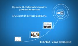 Simulador 3D, Multimedia Interactiva y Realidad Aumentada