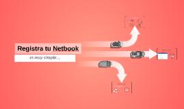 Registra tu Netbook