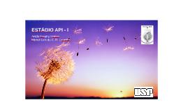 ESTÁGIO API I 2015