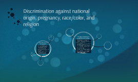 laws and rules on discrimination