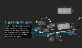 Digitizing Religion