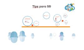 Tips para RR