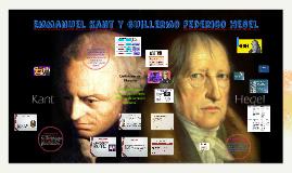 Emmanuel Kant y Guillermo Federico Hegel