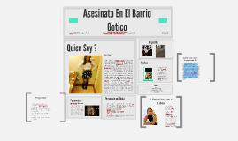 Copy of Asesinato En El Barrio Gotico