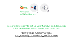 Safety Food Zone download and login