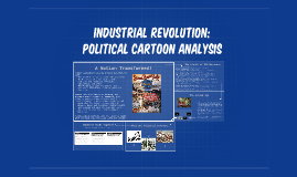 Industrial Revolution:  Political cartoon Analysis