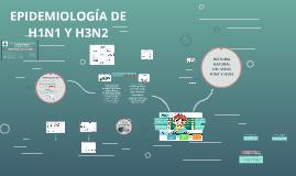 Copy of Copy of EPIDEMIOLOGIA DE H1N1 Y H3N2