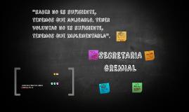 Copy of SECRETARIA GREMIAL