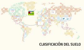 CLASIFICASIÓN DEL SUELO