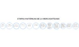 ETAPAS HISTÓRICAS DE LA MERCADOTECNIA