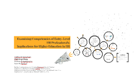 Examining Competencies of Entry-Level HR Professionals.docx