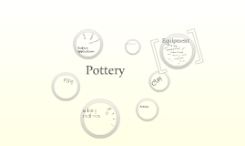 Pottery - What equipment do we use?